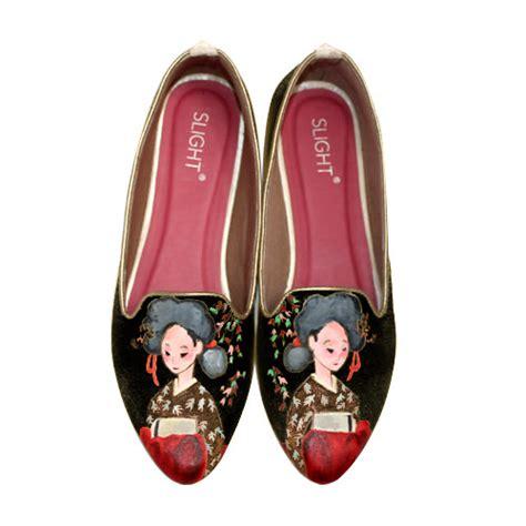Sepatu Sendal Cewe Wanita Flat Shoes Gesper sepatu boots wedges holidays oo