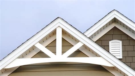 decorative gable end trim gable end overhang designs