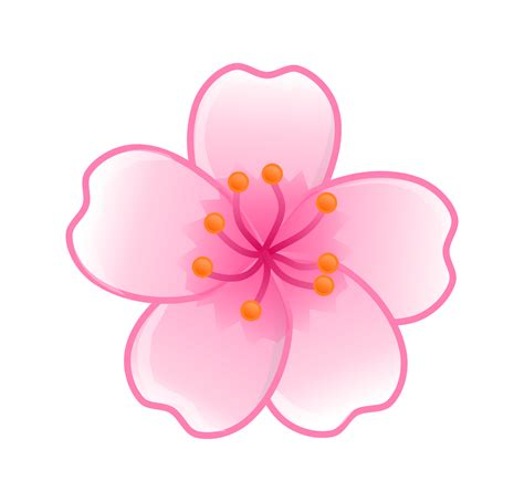 logo bunga sakura png  vector  clipart ideas