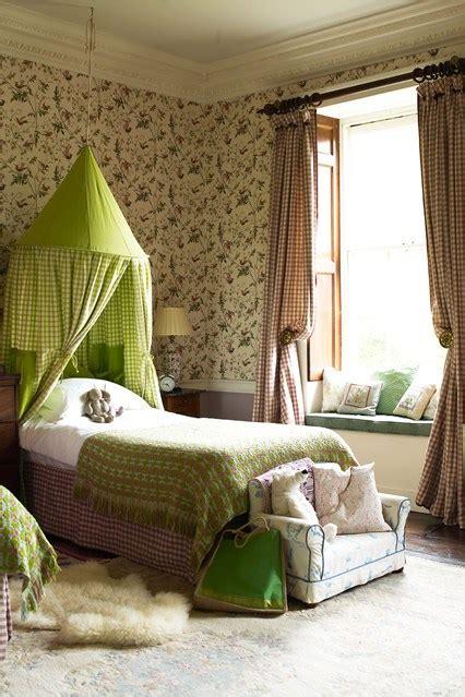 Bed Canopy Uk Chintz Gingham Bed Canopy Bedroom Ideas Designs Houseandgarden Co Uk