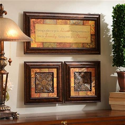 Kirklands Home Decor Blessings Shadowbox Set Of 3 Home Decor 2 Kirklands Pinterest