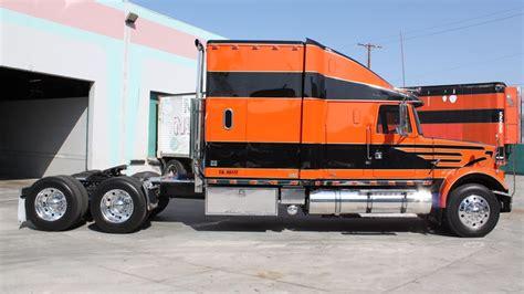 white volvo truck 1986 white volvo semi tractor f53 anaheim 2012