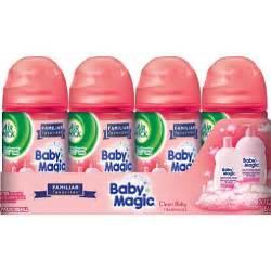 Air Wick Baby Magic Air Freshener Air Wick Freshmatic Ultra Baby Magic Fresh Linen 4 Pk