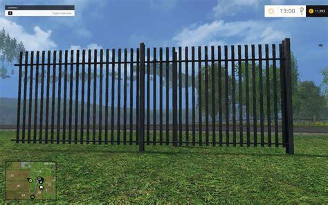 Minecraft Home Decoration industrial fences v 1 0 mod for fs 15 farming simulator