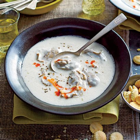 classic oyster stew dixie s classic oyster stew recipe myrecipes