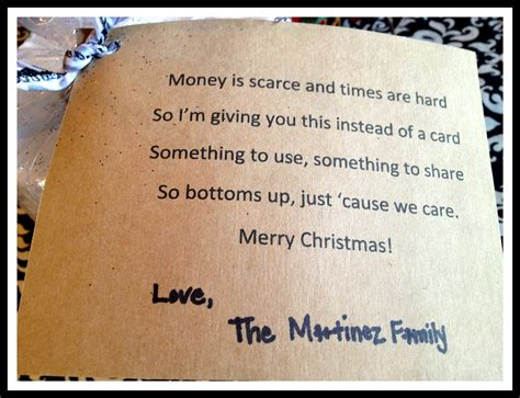christmas gift money poem marci coombs toilet paper gift idea