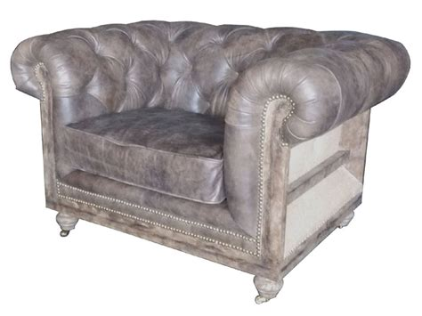 vintage sofa chair vintage leather chesterfield roll arm sofa chair