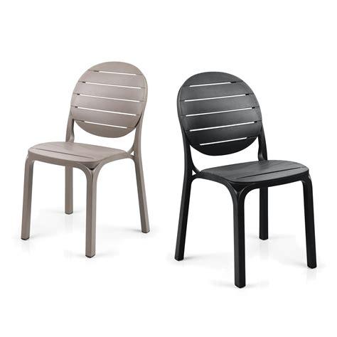 sedie per giardino sedia per esterni in resina erica nardi