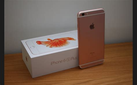 Iphone 6s 64gb Rosegold unboxed iphone 6s plus 64gb gold boot up