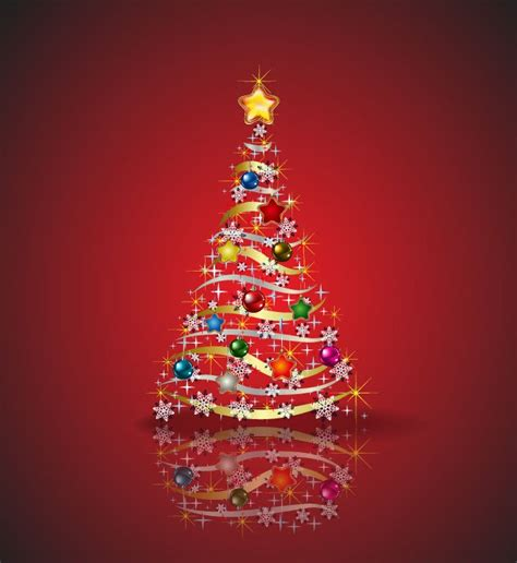 christmas tree vector graphic free vector graphics all