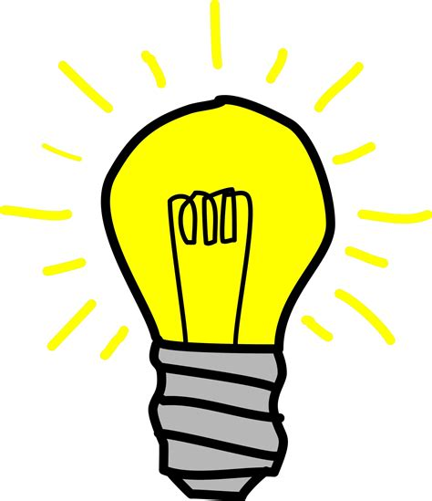 cartoon light bulb clipart best