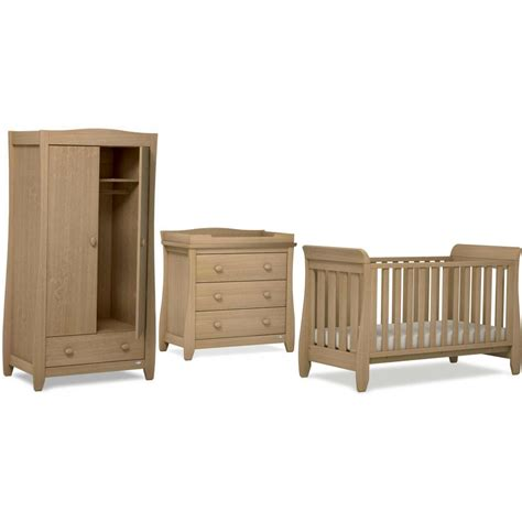 Urbane Sleigh 3 Piece Nursery Furniture Set By Boori From 3 Nursery Furniture Sets