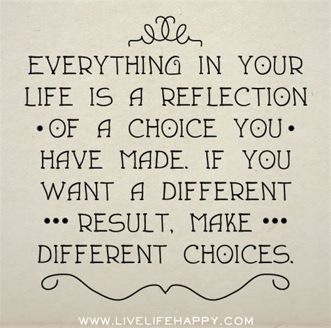If I Want An Mba Different Than My Bachelors by Quotes About Choices You Make Quotesgram