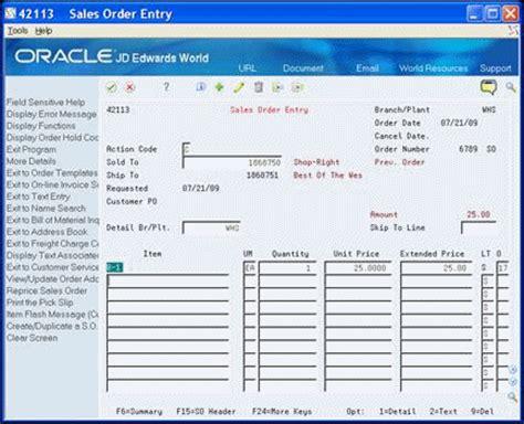 enter user defined data for sales orders