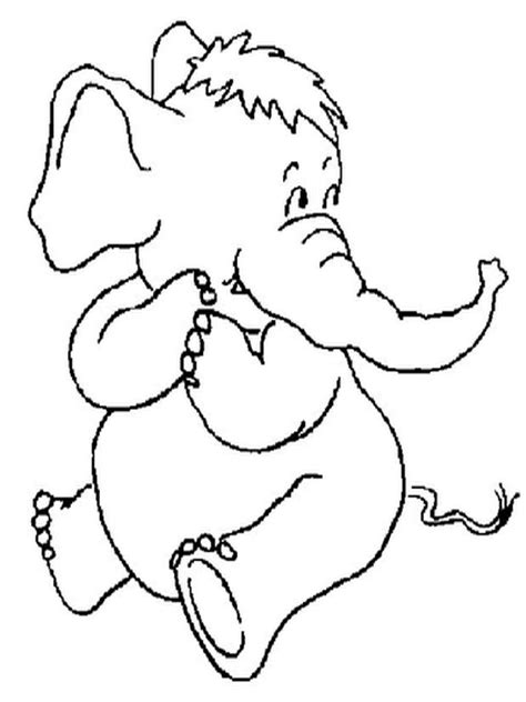Elephant Yoga Coloring Page | elephant yoga coloring pages