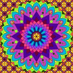 colorful mandala don t eat the paste mandala to color