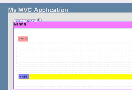 set layout in view mvc set validation in an asp net mvc application
