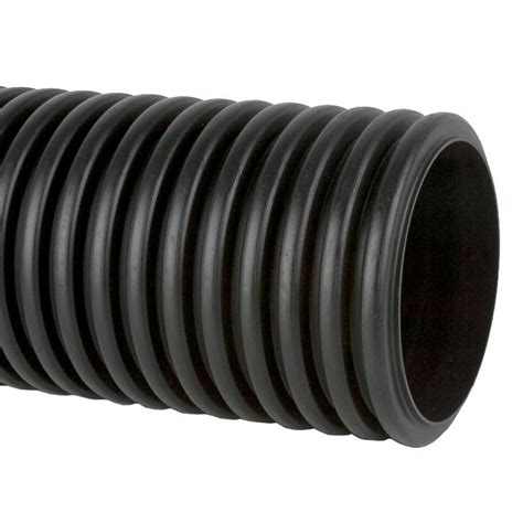 Drainage Pipe Perforated Twinwall Surface Water Drain Pipe 6m 150mm