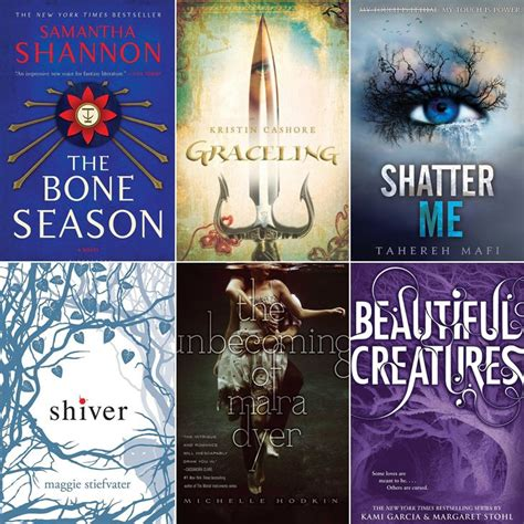 best novels series ya books popsugar