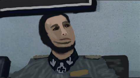 Fegelein Meme - botched hermann fegelein painting potato jesus know