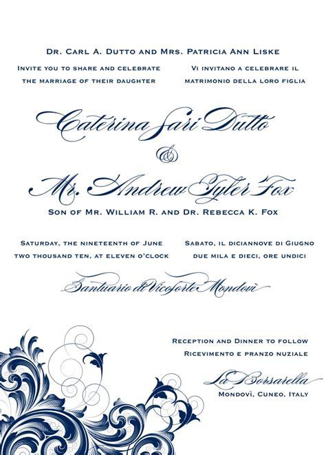 italian wedding invitations wording 11 kerala wedding invitation wording in ebookzdb