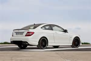 2012 mercedes c63 amg coupe officially unveiled the