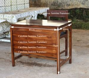 Meja Kayu Setengah Biro meja guru atau meja setengah biro pusat informasi