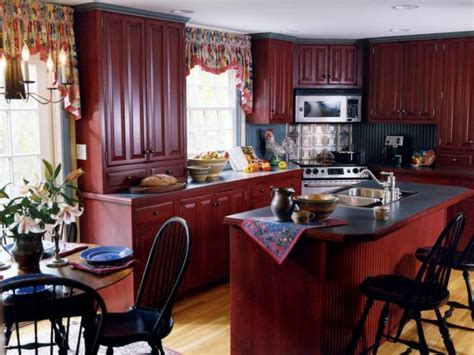 sues country kitchen country kitchen islands pictures ideas tips from hgtv