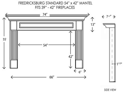 Fireplace Hearth Size by Wood Fireplace Mantels Fireplace Mantels Fredricksburg