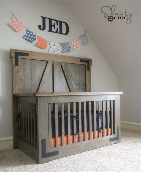 Build Your Own Baby Crib Best 25 Farmhouse Cribs Ideas On Farmhouse Baby Bedding Farmhouse Baby And