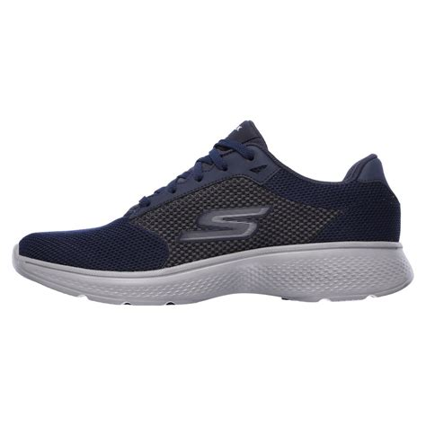 Skechers Walk 4 by Skechers Go Walk 4 Lace Up Mens Walking Shoes Sweatband