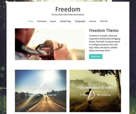 theme x blog 15 best free personal blog wordpress themes templates 2016