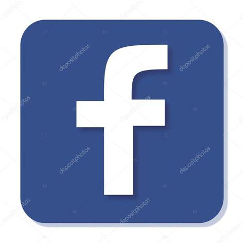 convertir imagenes jpg a iconos icono facebook con desenfoque suave y sombra azul