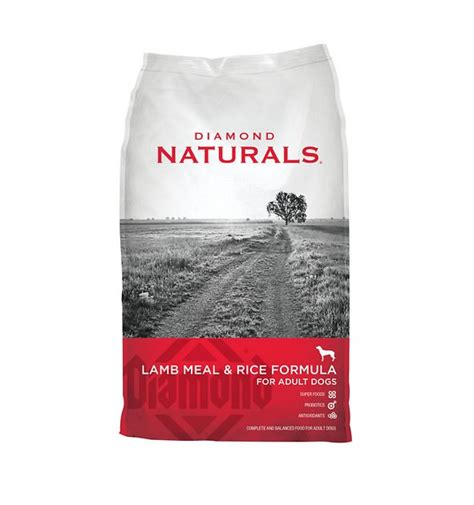 diamond naturals large breed adult lamb meal rice diamond naturals lamb meal rice formula adult dry dog