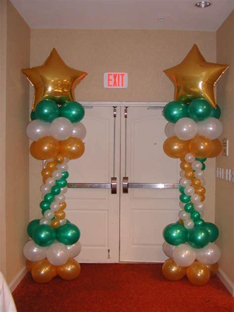 Roman Columns For Home Decor balloonize your event houston texas balloon column