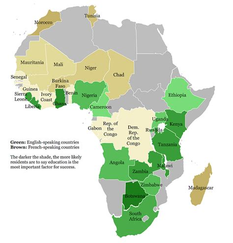 which countries in africa speak how many countries in africa speak