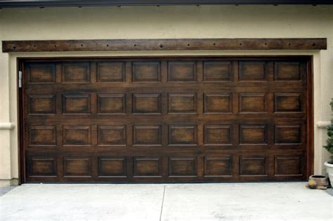 faux garage doors - Faux Painted Garage Doors