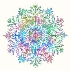 ordinary Kitchen Contact Paper Designs #5: Lulu-Designs-Micklyn-le-Feuvre-Nature-Mandala-Rainbow-Design.png