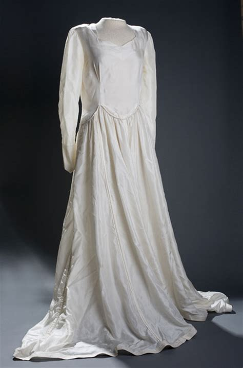 Wedding Dress Made From Saving Parachute by The National Wwii Museum New Orleans Collections