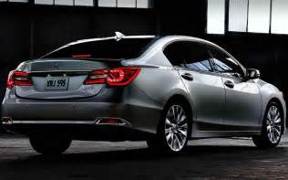 2018 acura rlx sport hybrid redesign new concept cars