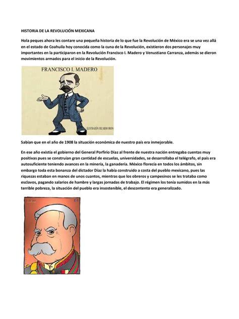 imagenes sobre la revolucion mexicana para niños historia de la revoluci 211 n mexicana para ni 209 os