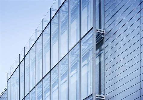 curtain walling curtain wall in aluminum and glass iguzzini