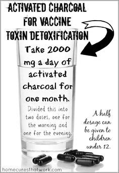 Activated Charcoal Is A Detox by Detox With Activated Charcoal Heavy Metal Dr Who And