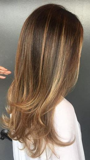 trendy to elegant black hair with caramel highlights trendy hair highlights want this caramel and honey