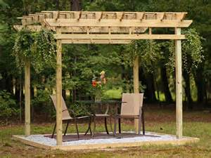 How To Make A Wooden Pergola by How To Build A Pergola Hgtv