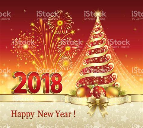 imagenes navidad 2018 feliz a 241 o nuevo 2018 193 rbol de navidad illustracion libre