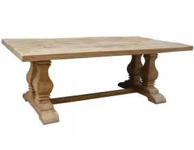 Dining Table Wood Dining Table Salvaged Trestle Dining Table