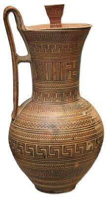 vaso attico olpe corintio s vii a c madrid museo arqueol 243 gico