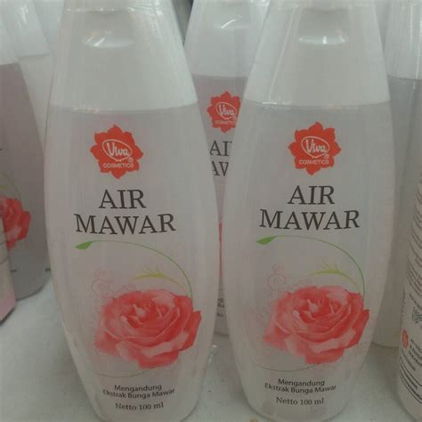 Toner Air Mawar Jual Viva Cosmetics Air Mawar Toner Air Mawar Viva