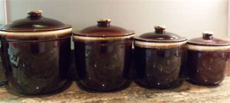 vintage kitchen canisters counter decor pfaltzgraff 1000 images about pfaltzgraff brown drip vintage on